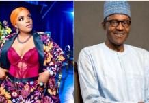 Actress Empress Njamah Express Anger For Missing Flight Because Of Buhari's Roadblock