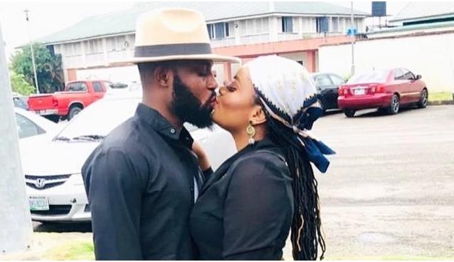 BBNaija 2021: Tega's Husband, Boma Spotted Having Fun Together (Video)