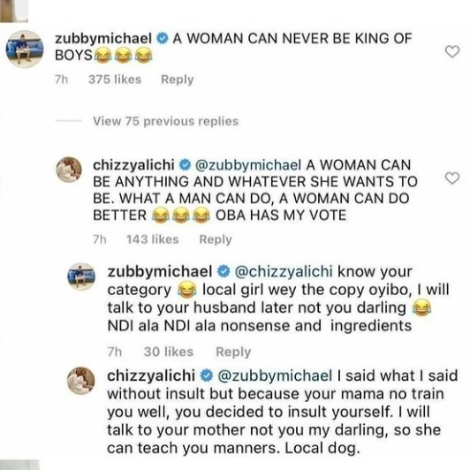 I Will Talk To Your Mother To Teach You Some Manners- Chizzy Alichi Slams Zubby Michael