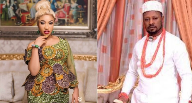 Tonto Dikeh Reacts To Leaked Audio Recording Of Her Begging Her Ex-Boyfriend
