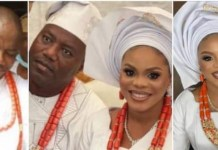 Mercy Aigbe's Ex-Husband Lanre Gentry Shows Off New Bride