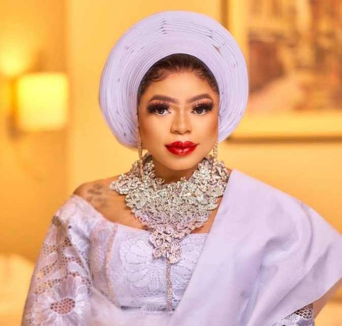 After Several Name Calling, Bobrisky Tenders Apology To Tonto Dikeh