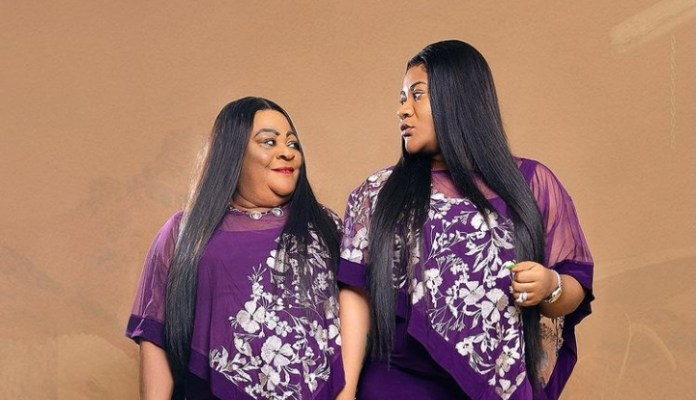 Nkechi Blessing Shares Late Mother's Lovely Birthday Photos On Her Birthday