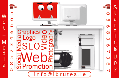 digital media experts: iBrutes Business Card
