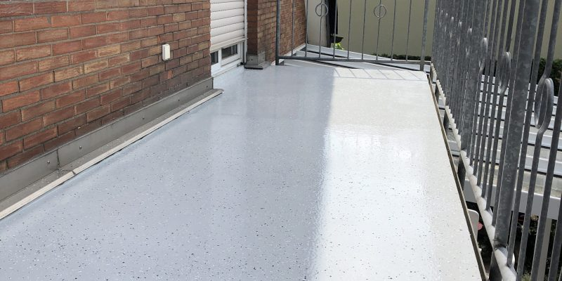 Beliebt Balkon - Sanierung - Epoxidharz - Systeme- Steinteppich - IBS Schmäing BX46