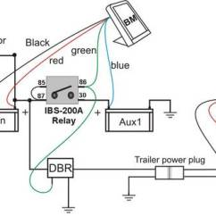 Tjm Dual Battery System Wiring Diagram Pickup Ibs Dbr Dualbatt Relay 4wd With Trailer Combined Link