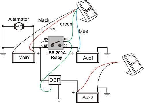 tjm ibs dual battery system wiring diagram crochet scarf pattern dbr dualbatt relay triple in 4wd with combined link
