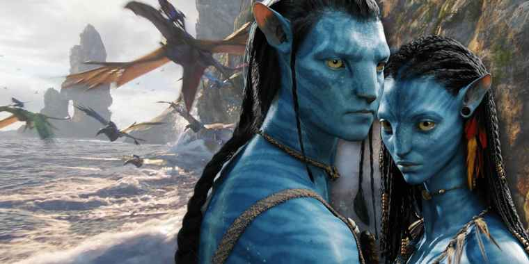 Jake-Sully-and-Neytiti-in-Avatar