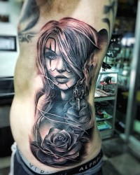 Black and Grey Tattoo Ibud Tattoo Studio Bali (19)