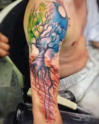 Color Tattoo Ibud Tattoo Studio Bali (13)-min