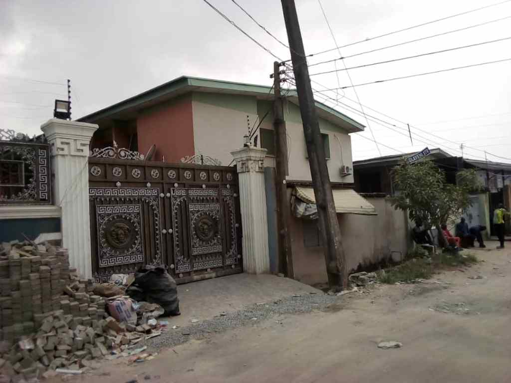 2 UNITS OF 5 BEDROOM SEMI DETACHED HOUSE FOR SALE AT SURULERE