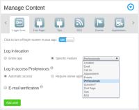 Workspace Login Email