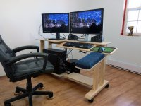 Computer Desk Plans - Plans - IBUILDIT.CA