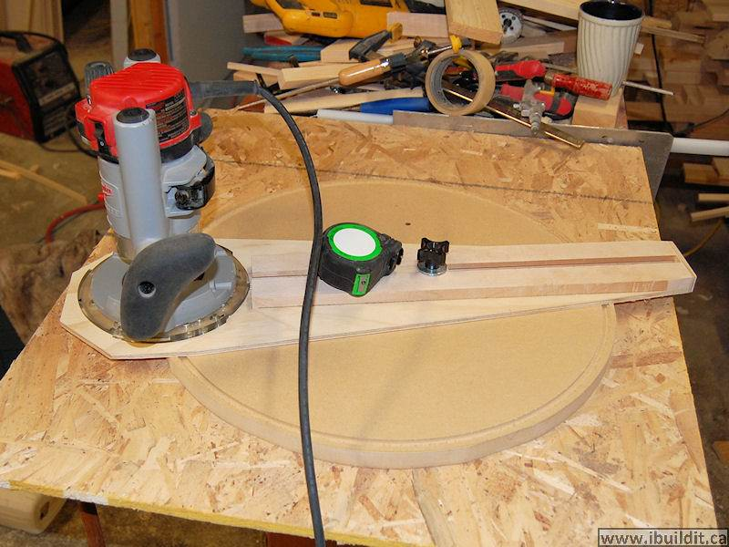 Circle Jig For Router