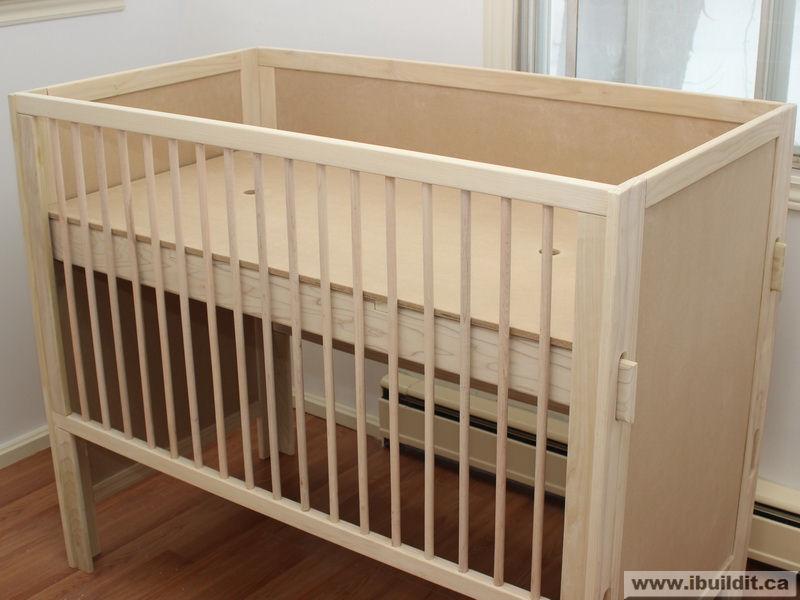 Diy 3 In 1 Baby Crib Plans