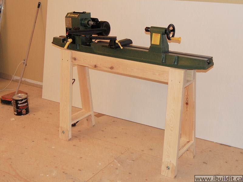 Wood Lathe Stand For Sale