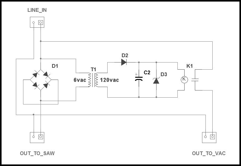 Automatic Vacuum Switch Schematic
