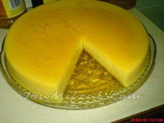 resipi puding gula hangus tanpa telur yang mudah