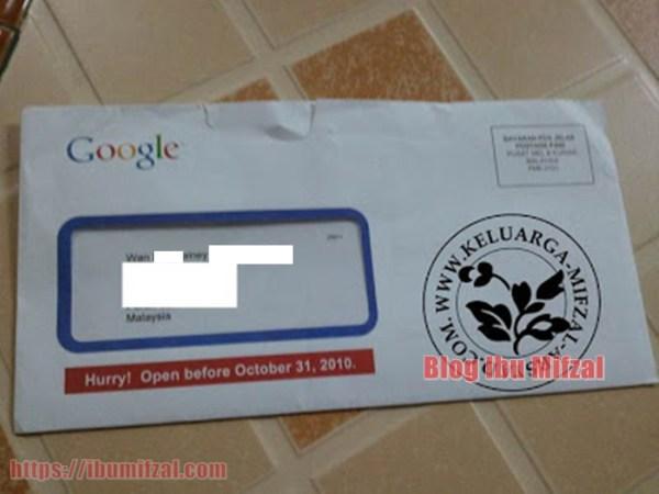 Dapat Voucher RM150 Dari Pakcik Google