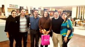 La delegación salvadoreña!