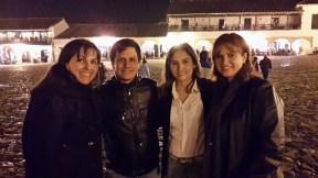 Patty, Franklin, Milena y Rocío