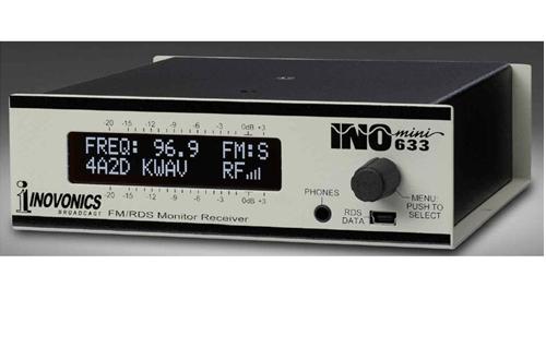 Inovonics 633 INOmini FM RDS Monitor Receiver