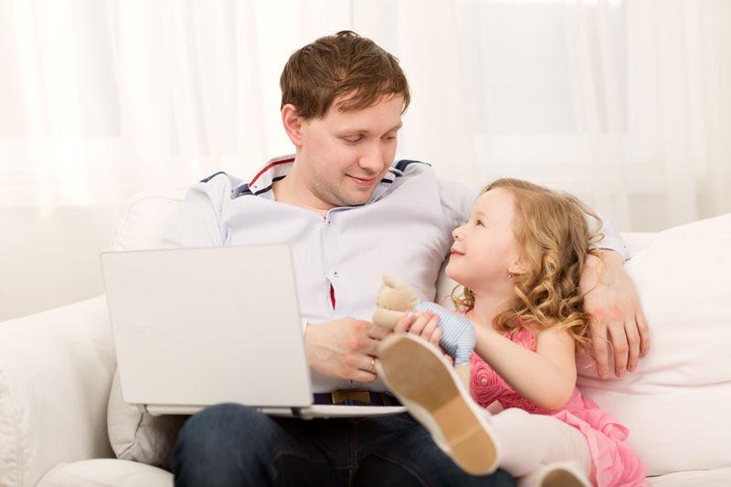IBZ Life and Work Coaching - Dad Teaching Daughter
