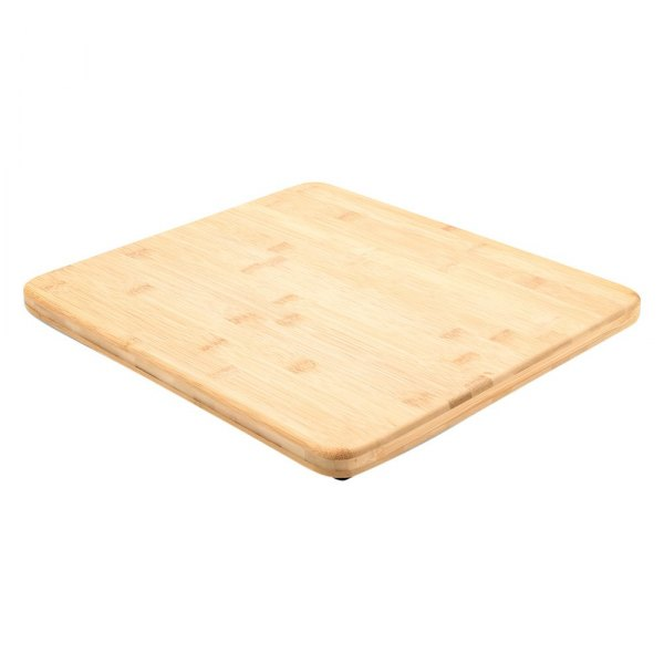 camco 43437 bamboo brown rectangular kitchen sink cover with legs 15 l x 13 w