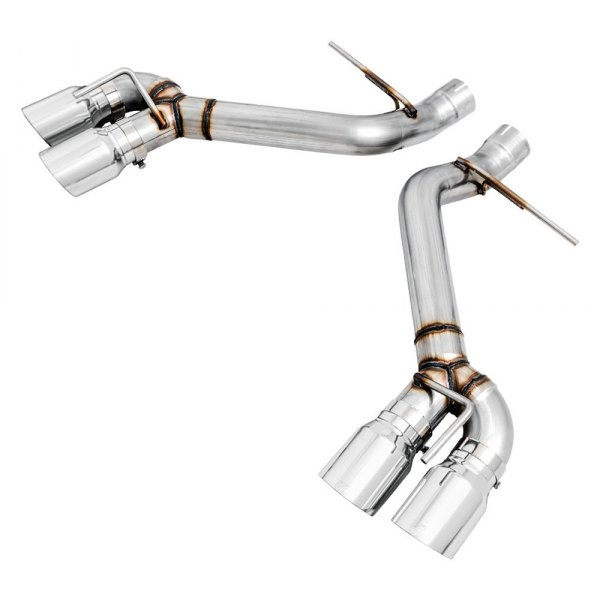 awe tuning track edition 304 ss axle back exhaust system with quad rear exit