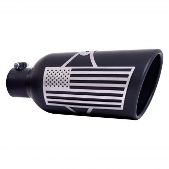 exhaust tips dual double wall