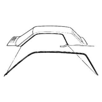 1967 Ford Mustang Replacement Roofs
