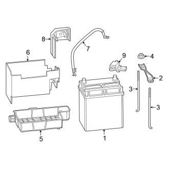 2015 Honda Fit OEM Starting & Charging Parts — CARiD.com