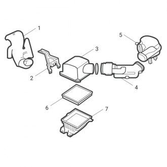 2003 Volkswagen Beetle Replacement Air Intake Parts