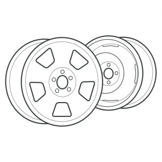 2006 Jeep Wrangler Replacement Factory Wheels & Rims