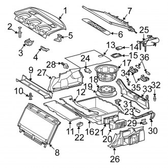 2006 Mercedes E Class OEM Interior Components — CARiD.com