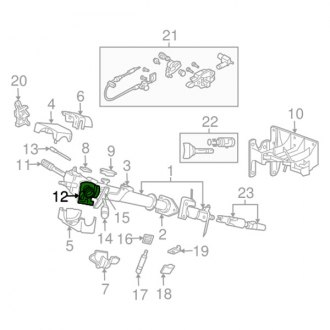 2003 Dodge Ram Ignition Lock Cylinders — CARiD.com