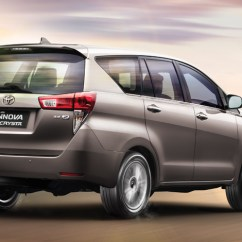 Wallpaper All New Kijang Innova Toyota Venturer India Great V Diesel Seater With Top View Full Size