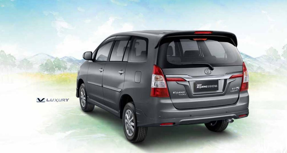 wallpaper all new kijang innova toyota yaris trd 2018 price 2014 3-quarter rear 'gray mica metallic'
