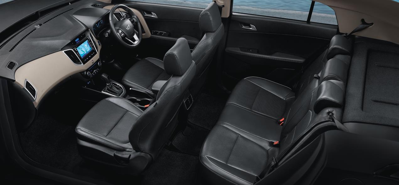 Hyundai Creta SUV Interior