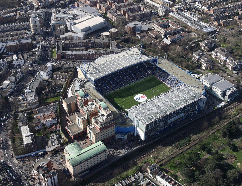 Cтадион Стэмфорд Бридж (Stamford Bridge)