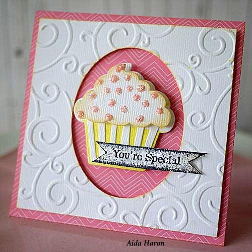 Sizzix Inspiration Card Aida Haron