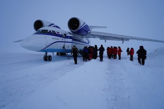 The Adventure Blog: North Pole 2015: Barneo Ice Camp Opens ...