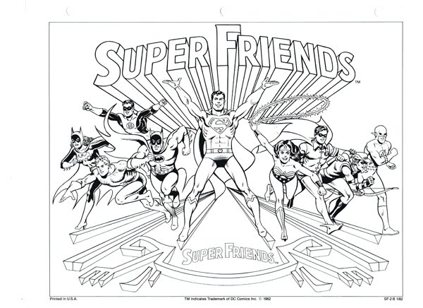 1980's Saturday Morning Watch-Along SPOILER COLORING PAGES