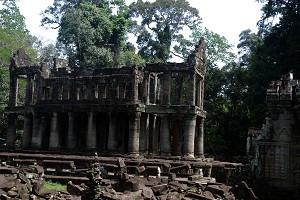 Preah Khan - Library