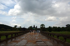 Angkor Wat - The Causeway