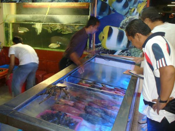 Milih ikan di Ria Rio
