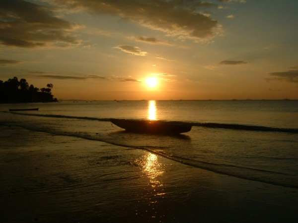 Sunset di Kupang