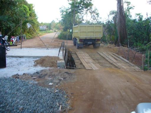 Kondisi jalan rusak