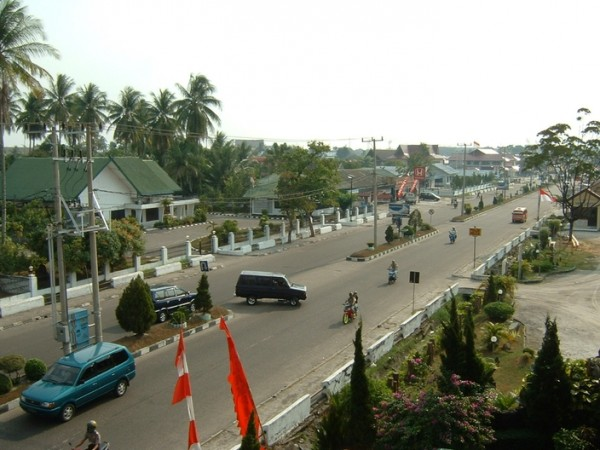 Jalan di Palangkaraya