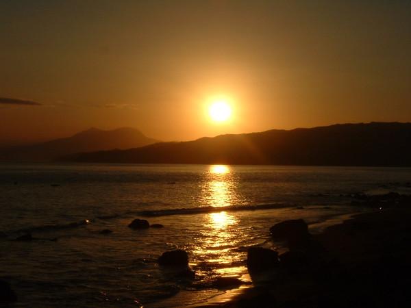 Sunset di Ende